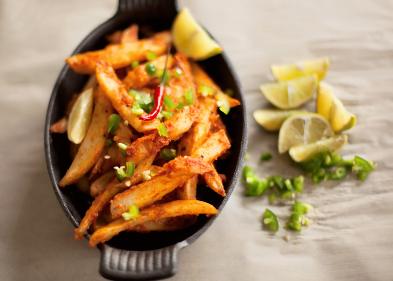 Spicy Masala Fries